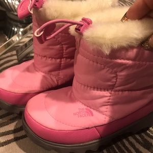 Toddler north face winter boots
